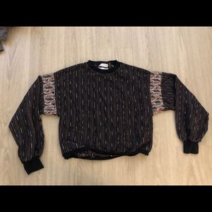 Urban Outfitters Sparkly Light Sweater